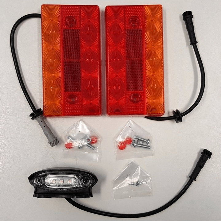 Boat Trailer Led Trailer Lights With Wiring System Roxom Boat