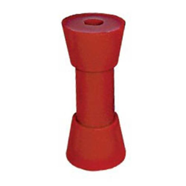 6-inch-red-soft-dog-bone-sydney-keel-roller