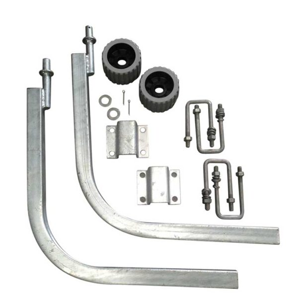 Boat Trailer Guide Pole Complete Kit