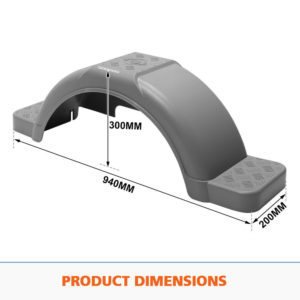 Boat-Trailer-Mud-Guards-Gray-Dimensions